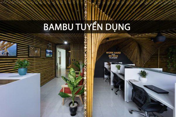 Bambu tuyển kiến trúc sư