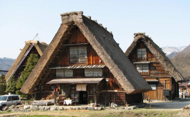 Mái nhà truyền thống Nhật Bản