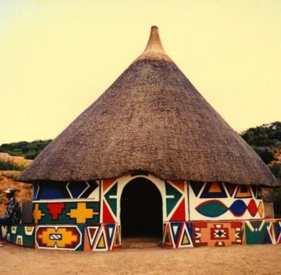 Kiến trúc nhà truyền thống ở Châu Phi