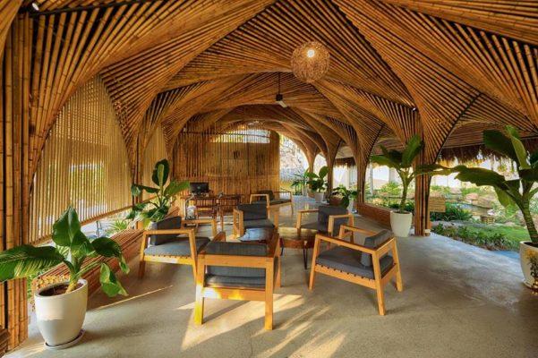 Vật liệu địa phương trong kiến trúc bản địa