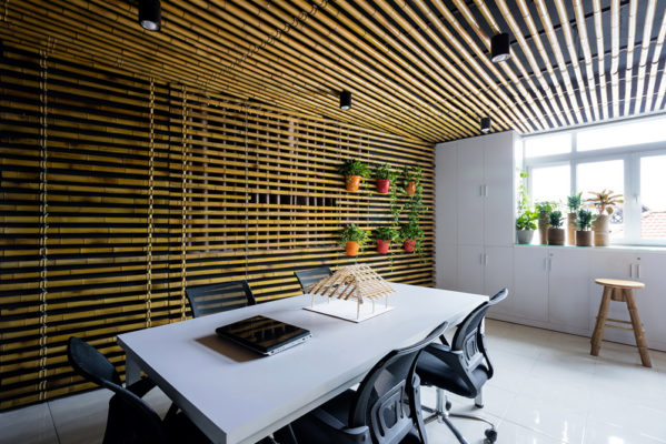 Bamboo ceiling (2)